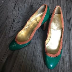 """Jcrew made in Italy Isabella style suede 3"""" Heels"""